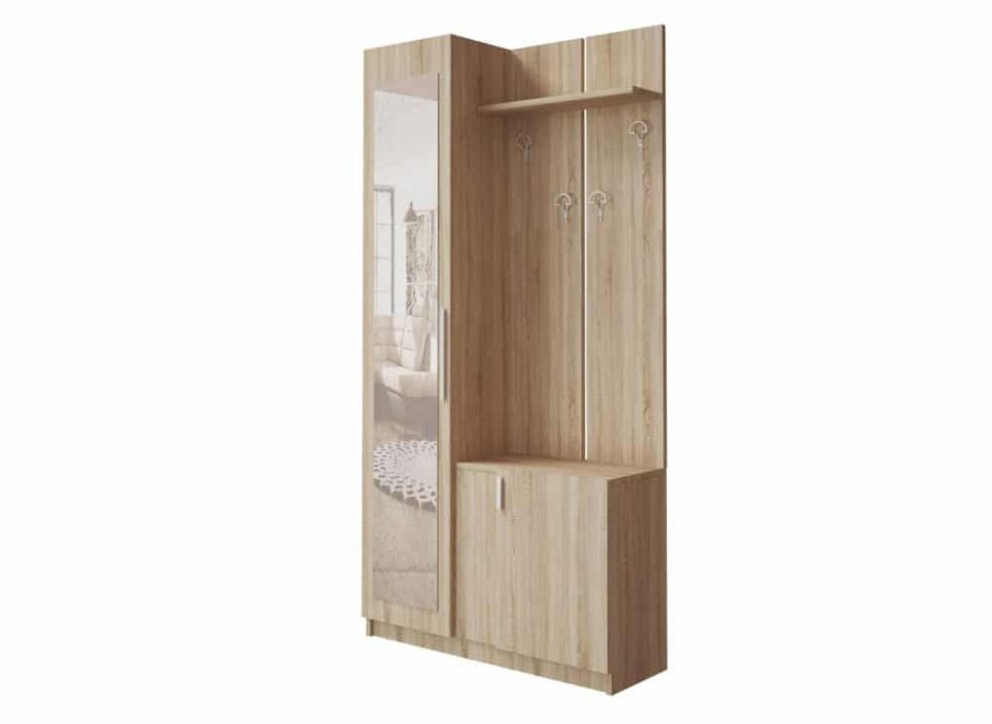 Cuier Minu Sonoma - Mobilier Hol