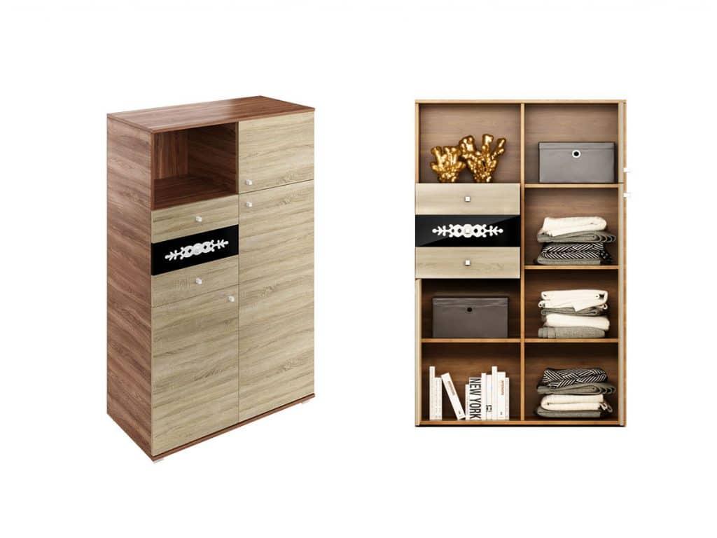 Corp mobilier sufragerie / living - Oferta Comoda Cu Sertare Amigo H