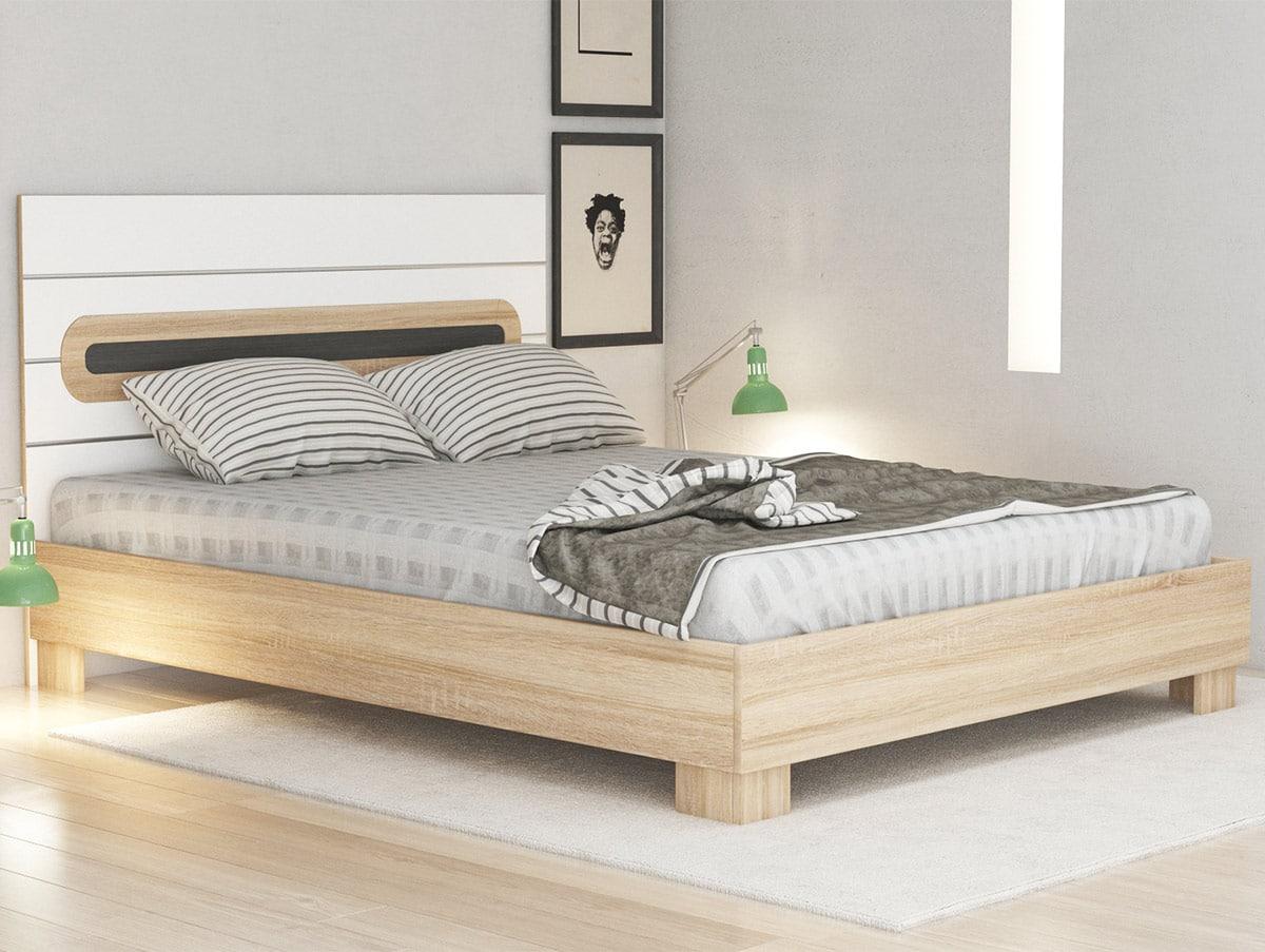 Pat dormitor 2 persoane Kent