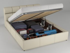 Pat dormitor 2 persoane Rabatabil Galileo