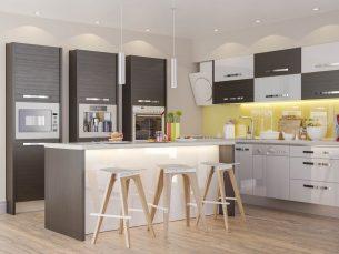 Bucătăria Italia modulară Configuratia 9
