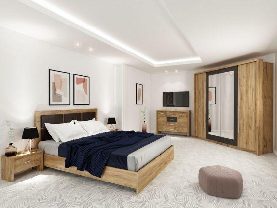Dormitor Luna Cu 4 Usi