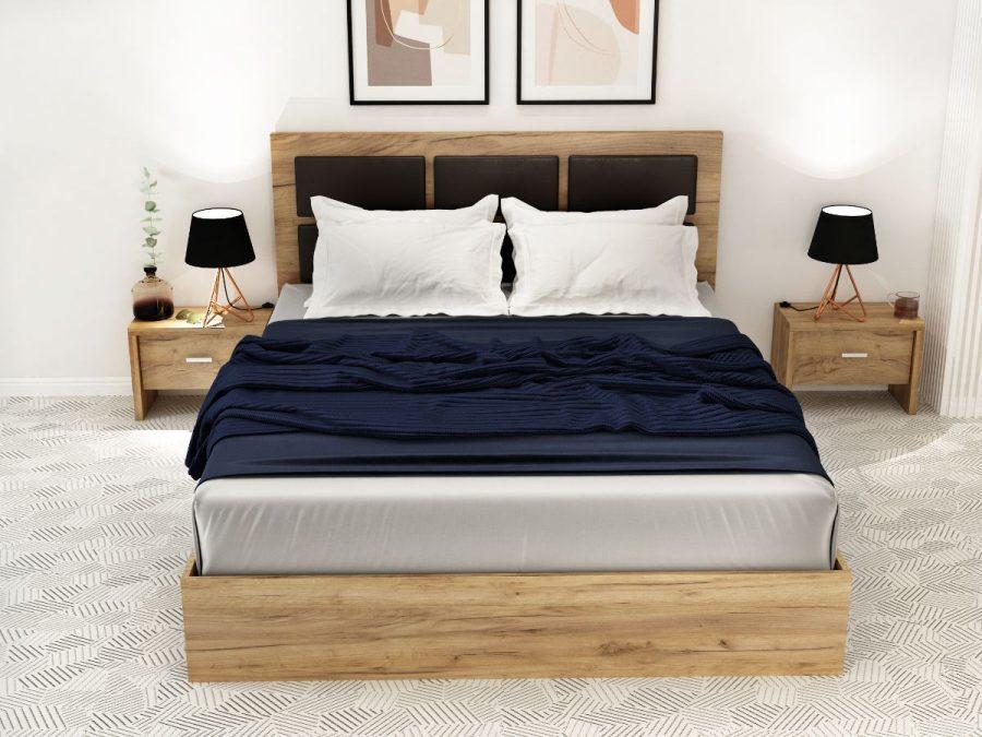 Pat Dormitor Luna Cu 4 Usi
