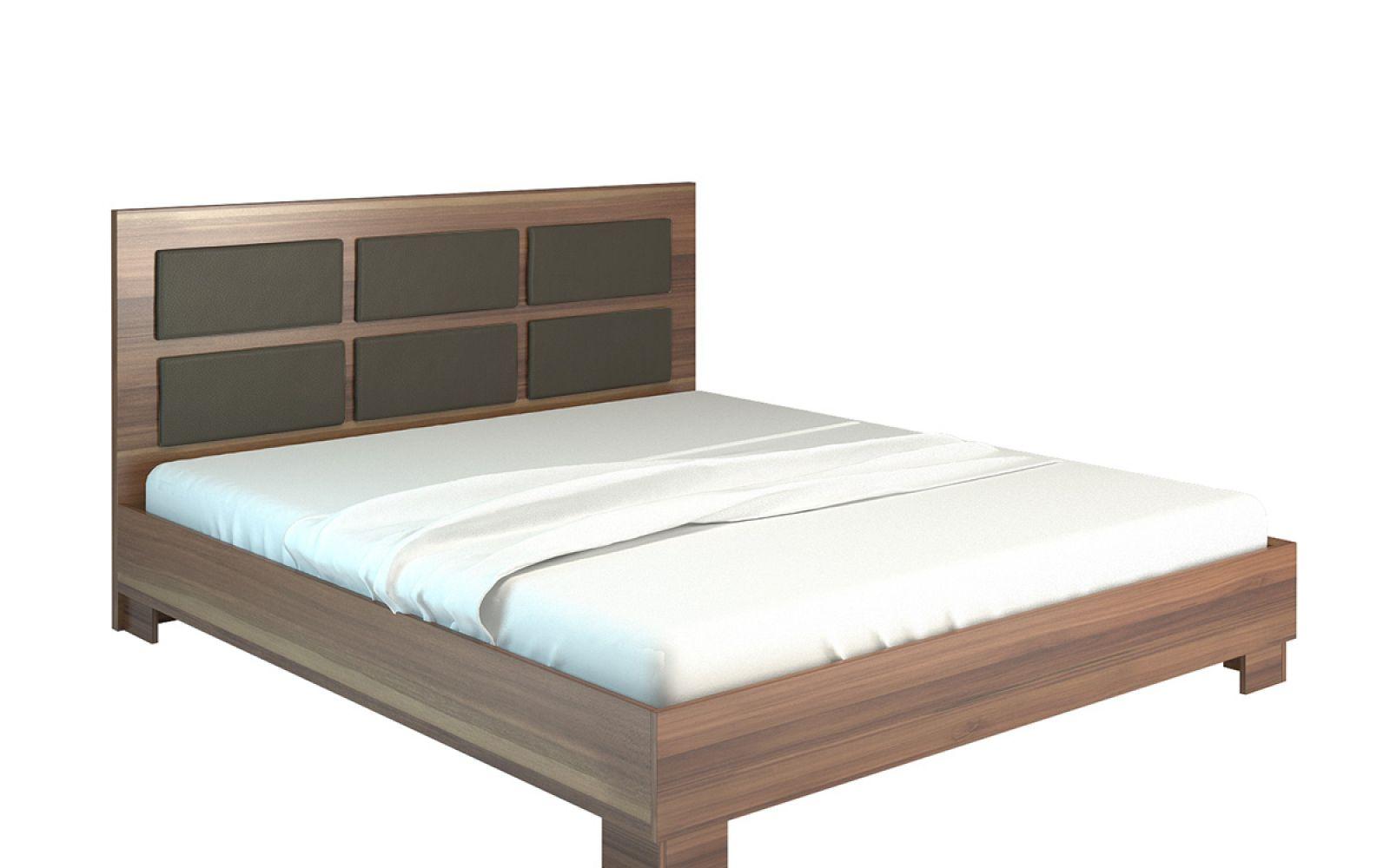 Pat dormitor o persoana Luna 140 cm produs in Romania, comanda online