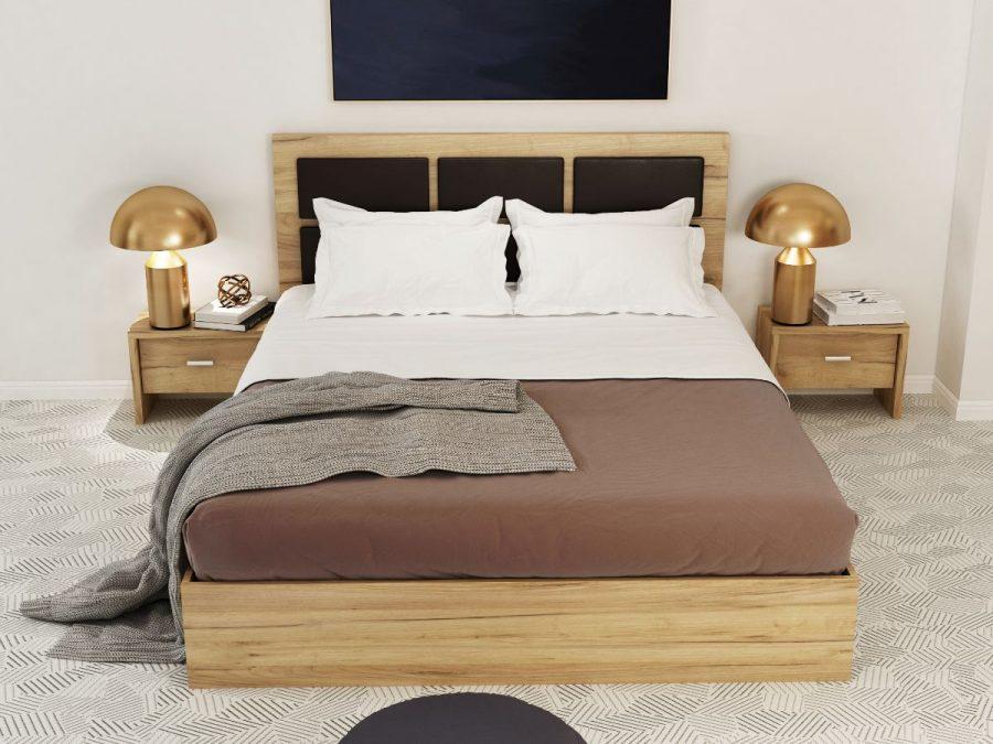 pat dormitor luna ecoline mobila