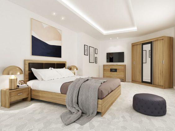 set Dormitor Luna Ecoline mobila
