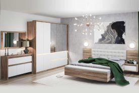 Dormitor Terra 5 piese cu lada