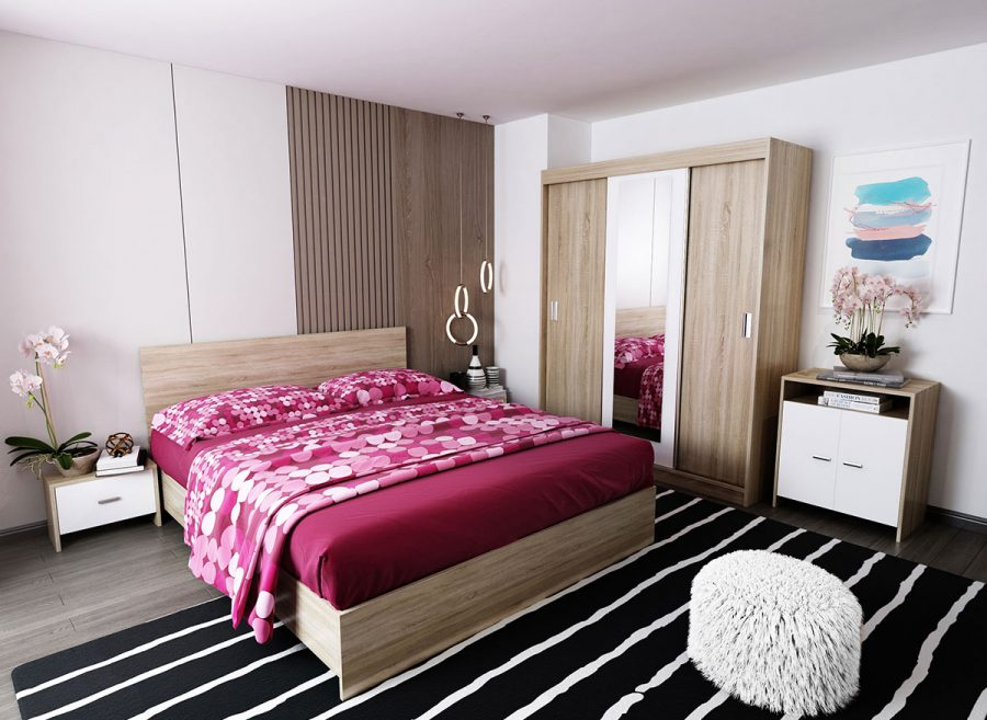 Oferta Set Dormitor Bingo Netapitat
