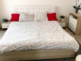 Pat Dormitor 140 sau 160 x200 Tapitat 🚚 Bingo 🚚