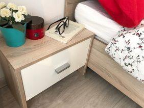 Oferta Dormitor Complet Bingo Tapitat – 5 piese