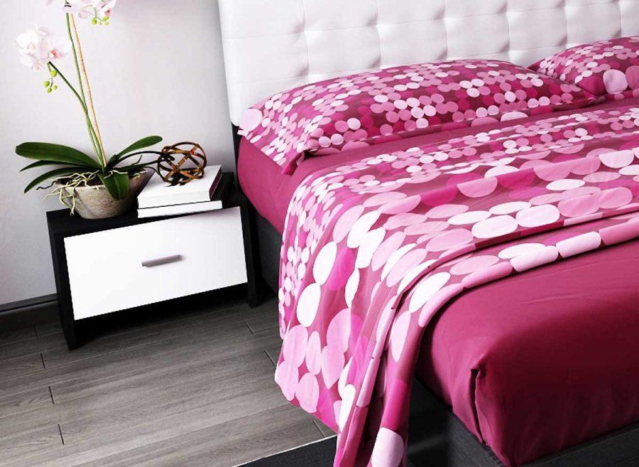 set noptiere dormitor bingo ferrara pat