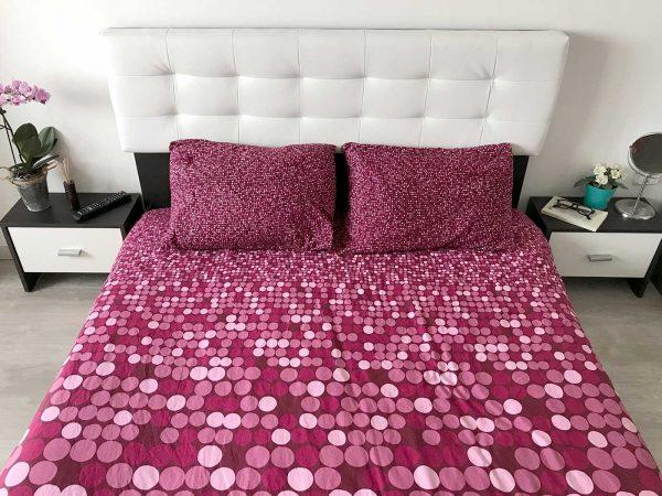 Pat Dormitor 140 sau 160 x200 Tapitat 🚚 Bingo F 🚚