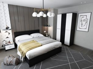 Set Dormitor Mario 3U 4 piese