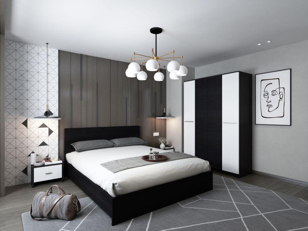 Set Dormitor Mario 4U - 4 piese