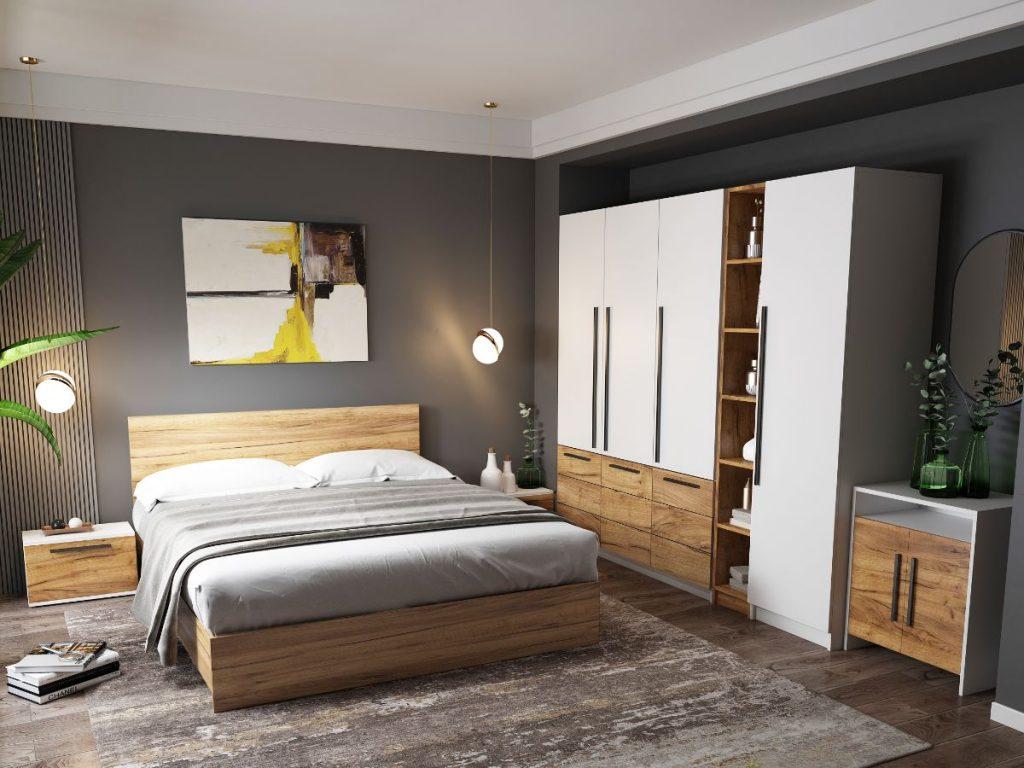 Set Dormitor Timea - 7 piese