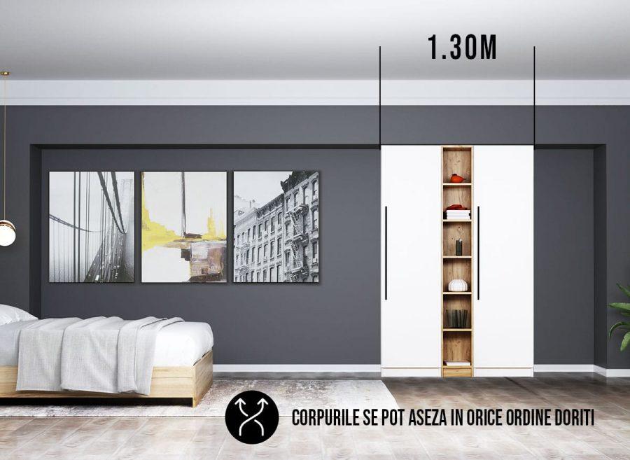 Dressing 1.30m / Dulap Dormitor Timea
