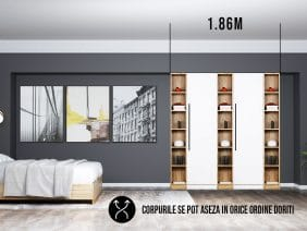 Dressing 1.86m / Dulap Dormitor Timea