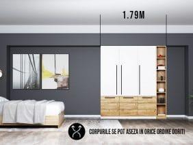 Dressing 1.79m / Dulap Dormitor Timea