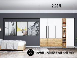 Dressing 2.30m / Dulap Dormitor Timea