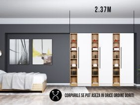Dressing 2.37m / Dulap Dormitor Timea