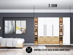 Dressing 2.58m / Dulap Dormitor Timea