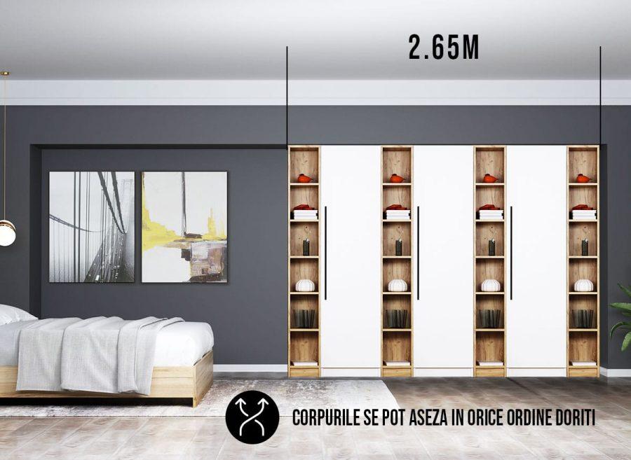 Dressing 2.65svm / Dulap Dormitor Timea