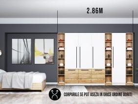 Dressing 2.86m / Dulap Dormitor Timea