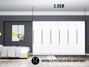 Dressing 3.06m / Dulap Dormitor Timea