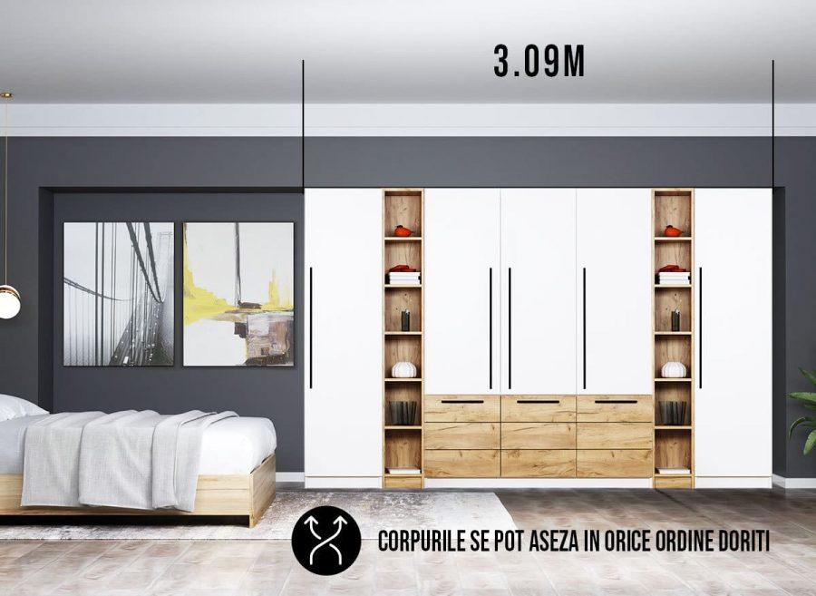 Dressing 3.09m / Dulap Dormitor Timea