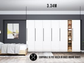 Dressing 3.34m / Dulap Dormitor Timea