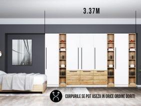 Dressing 3.37m / Dulap Dormitor Timea