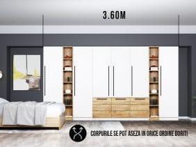 Dressing 3.60m / Dulap Dormitor Timea