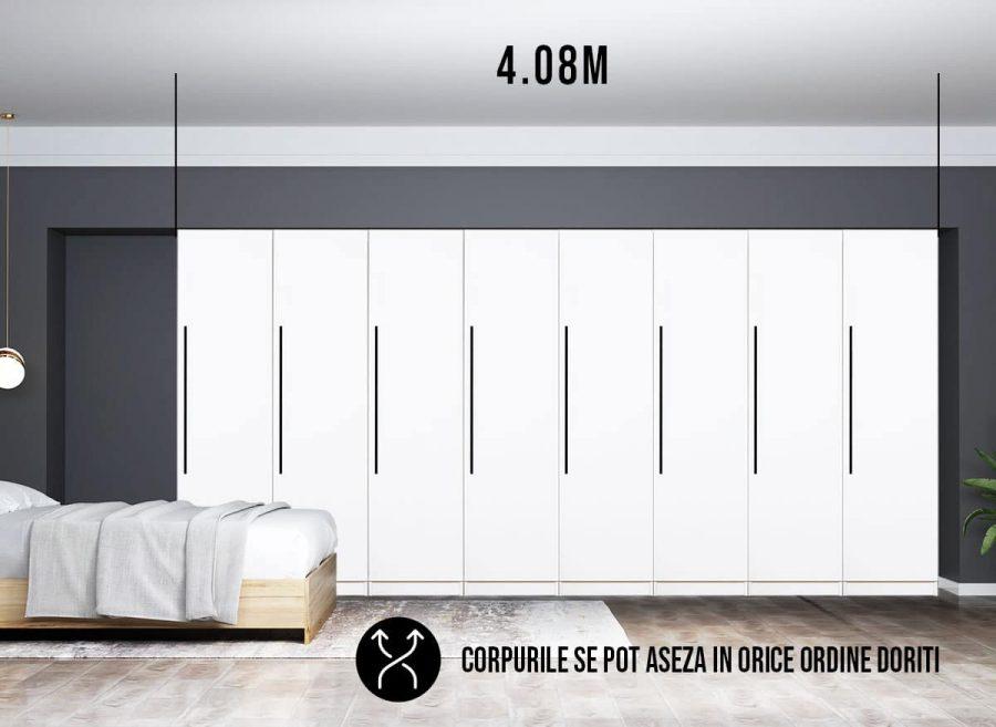Dressing 4.08m / Dulap Dormitor Timea