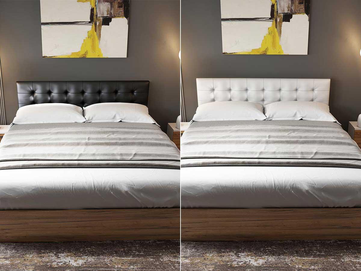 pat tapitat alb negru