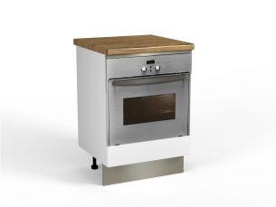 Corp Inferior Cuptor 600 - Cucina Alb Ultra Mat