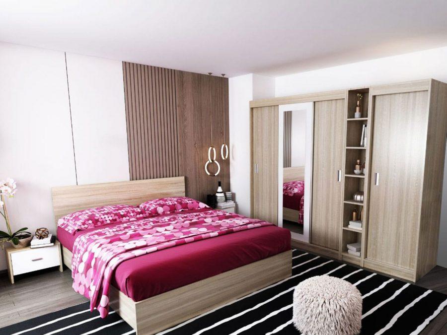 Oferta Set Dormitor Bingo Netapitat 6 piese