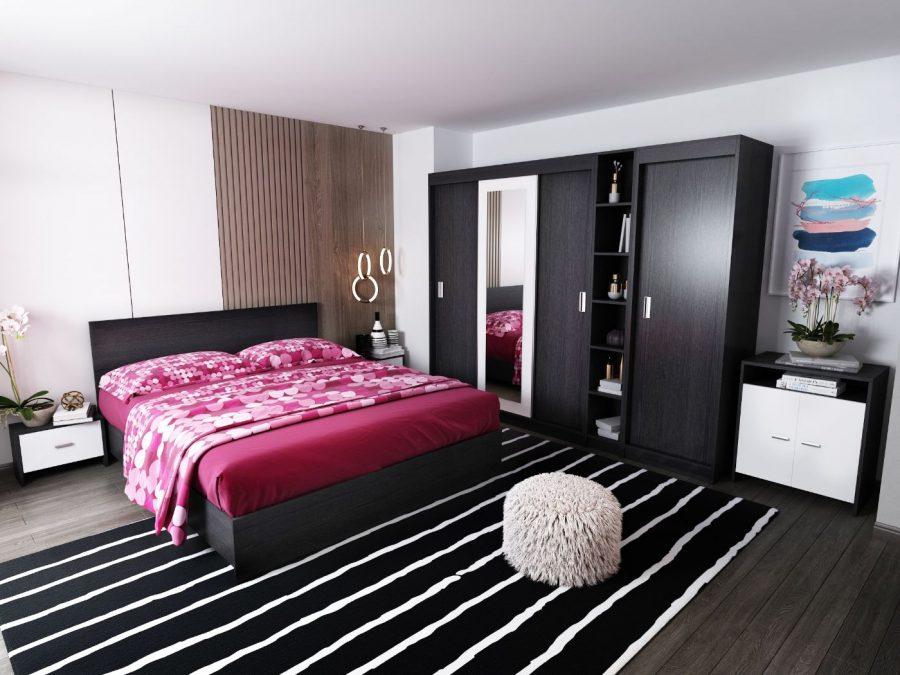 Oferta Set Dormitor Bingo F Netapitat 7 piese