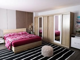 Set Dormitor Bingo Dulap Dublu