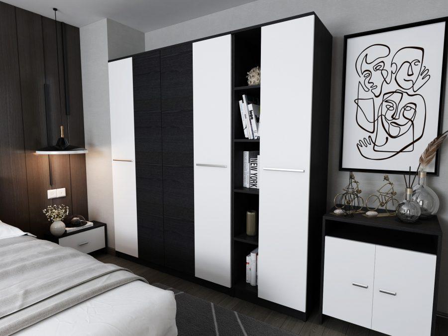 Oferta Dormitor Mario 6 piese 4U
