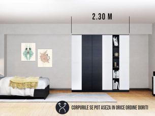 Dressing 2.30m / Dulap Dormitor Mario