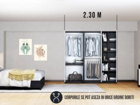 Dressing 2.30 m / Dulap Dormitor Mario