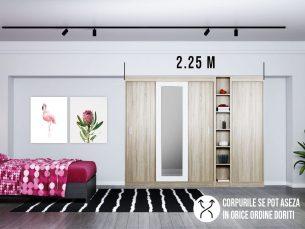 Dressing 2.25m Dulap Dormitor Bingo