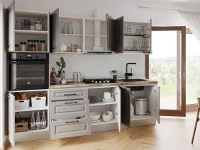 Set Bucatarie Cucina - Gri Structo