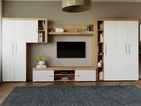 Mobila sufragerie - Living Milan C1 DUO Stejar