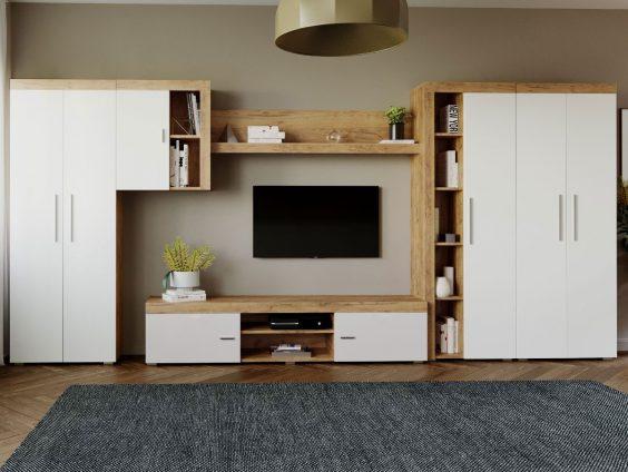 Mobila sufragerie – Living Milan C1 DUO Stejar