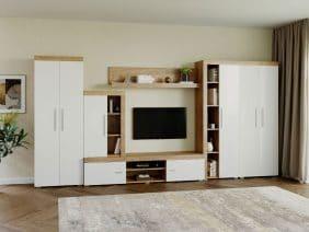 Mobila sufragerie - Living Milan C4 DUO Stejar