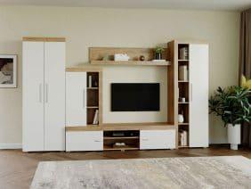 Mobila sufragerie - Living Milan C4 UNO Stejar