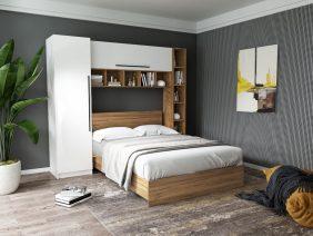 Set Dormitor Timea 2.33m cu pat incadrat