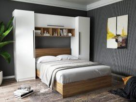 Set Dormitor Timea 2.56m cu pat incadrat