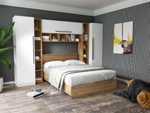 Set Dormitor Timea 3.12m cu pat incadrat